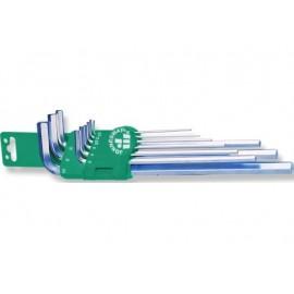 Imbus ključevi dugi 9 kom ravni H03SM109S