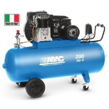 Kompresor 200L Abac PRO A39B 200 CT4 V400 50102