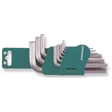Imbus ključevi kratkih sa ravnim krajem 9 kom H01SM109S