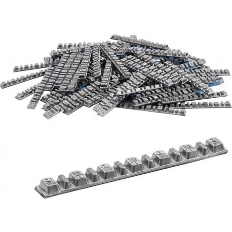 Lepljivi teg za moto gume 5/2.5gr 100 pločica 010266